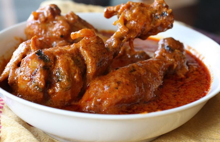 Butter chicken, famous Food in amritsar